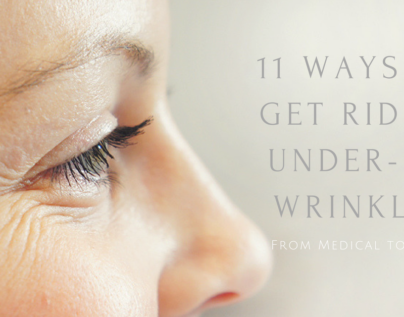 11 ways to get rid of eye wrinkles